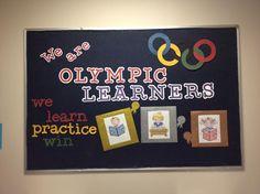 Olympic Learners Bulletin Board
