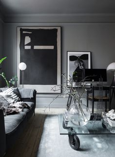 living in grey - Lotta Agaton 's Apartment