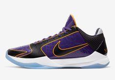 Kobe Sneakers, Nike Kobe Shoes, Camo Shoes, Men's Shoes, Sneaker Bar, Nike Zoom Kobe, Purple Leather, Nike Basketball, Los Angeles Lakers