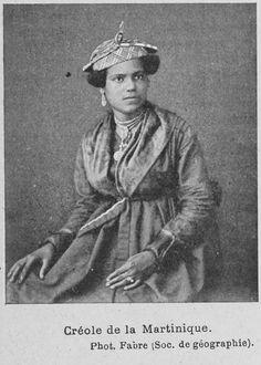 Créole de la Martinique.        (1902)
