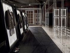 dunhill pop up NYC designed by Campaign Design
