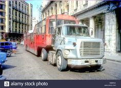 "Cuba: Havana,habana. A ""camello"" Bus In Havana,so Called Because Of Stock Photo, Royalty Free Image: 58586706 - Alamy"