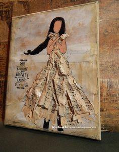 Mixed Media Art Journals | Mixed Media Girl (Art Journaling) | My Altered Art