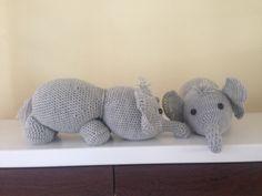 Amigurumi crochet olifant 15€