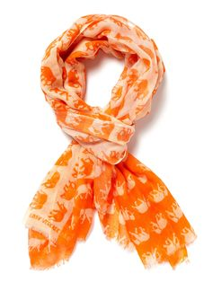 "Elephants Parade Scarf 75"" x 35"" by Be and D $75.00 at Gilt"