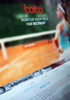 Bobo Logo and Teaser Website by Martin Oberhäuser, via Behance