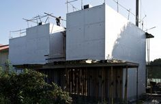 Gestão de obra - Construction management // Casa em betão branco - house in white concrete