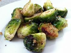 A brussel sprouts recipe for those who hate brussel sprouts! Super easy too--only a few ingredients and pop them in the oven for 15 minutes. Viola! The kids will love it.