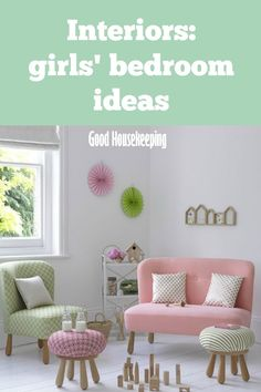 Need some inspiration for a girl's bedroom? Kids Bedroom, Decor, Bedroom Decor Inspiration, Bedroom Design, Home Decor Decals, Interior, Girls Bedroom, Bedroom Decor, Home Decor