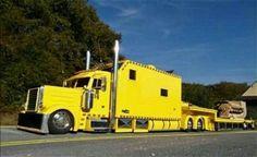Classic semi truck