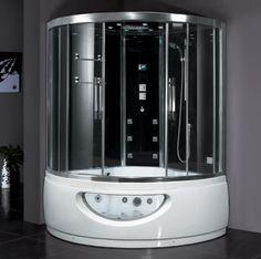 Zen Brand New Computerized Jetted Bath Tub & Steam Shower