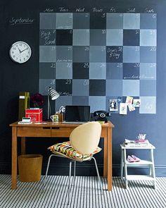Een handige Do-It-Yourself voor thuis of op kantoor! Zo vergeet je nooit meer een afspraak :)
