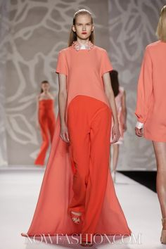 Monique Lhuillier Ready To Wear Spring Summer 2014 New York