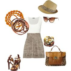 Summertime, created by brandy-michelle-ott on Polyvore