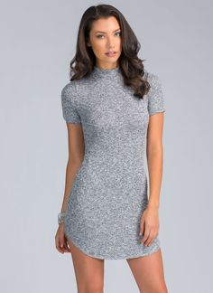 It's simple, ladies. Slip on this bodycon dress for an effortlessly-chic look every time.