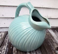 Vintage Stangl Ware Pitcher by catsinthecradlesoap on Etsy Blue In Green, Trending Outfits, Unique Jewelry, Handmade Gifts, Vintage, Etsy, Kid Craft Gifts, Craft Gifts, Costume Jewelry