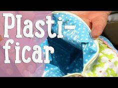 Plastificar Telas. Tutorial para Plastificar Tejidos con Telas Divinas. En Español. - YouTube