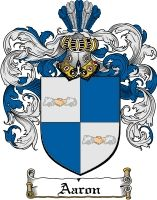 AARON Family Crest / AARON Coat of Arms
