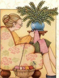 Photo: grandma | Mary Engelbreit Collection album | Caroline-Jeannine