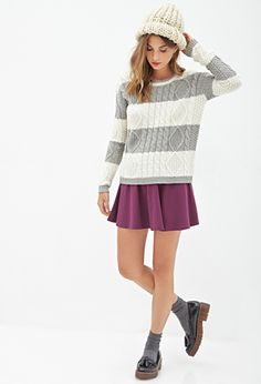I really like this sweater and i don't really have any sweaters                                                             Forever 21 I really really want this