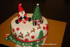 Noel Baba Yilbasi Pastasi