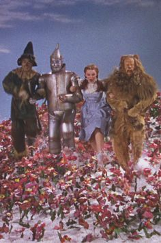 *THE WIZARD of OZ, 1939 Step out of the woods, step into the light!! March up to the gates and bid it open....OPEN!!!!!