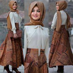 #tesettür  #elbise #tesettürelbise #giyim #kıyafet #moda #ceket #kombin #zarif Islamic Fashion, Muslim Fashion, Modest Fashion, Skirt Fashion, Hijab Fashion, Fashion Outfits, Womens Fashion, Hijab Dress, Hijab Outfit