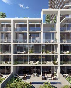 With Ward Village, Richard Meier and Bohlin Cywinski Jackson Bring Signature Architecture to Honolulu,Waiea / James KM Cheng Architects + WCIT Architecture. Image © The Howard Hughes Corporation