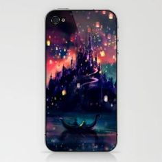 Best Scene from Tangled....perfect gift if the girls were old enough for iphones ;)