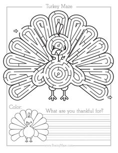 31 Free Thanksgiving Activity Pages That'll Keep the Kids Busy