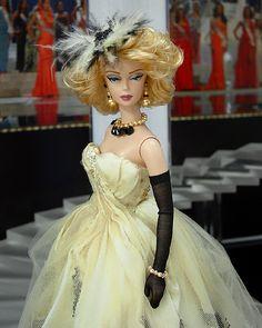 OOAK Barbie NiniMomo's Miss Nebraska 2011