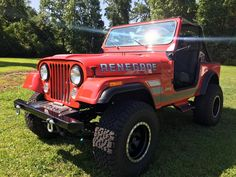 doors back on and ready to go! Jeep Cj7, Jeeps, Vintage Cars, Monster Trucks, Doors, Jeep, Classic Cars, Retro Cars, Gate