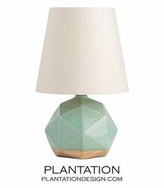 Verona Crackled Ceramic Lamp