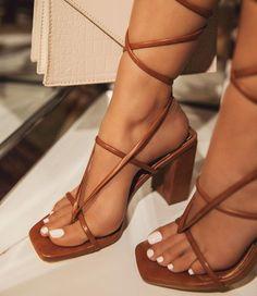 Dream Shoes, Crazy Shoes, Lace Up Heels, Shoes Heels, Pretty Sandals, Womens Summer Shoes, Aesthetic Shoes, Hype Shoes, Fashion Sandals