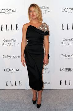 Prabal Gurung's Edgy LBD for the 2010 Women in Hollywood Event - Style Crush: Kate Hudson on the Red Carpet - Photos