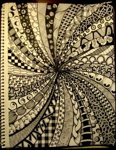 Zentangle.......by Tara Ogdin