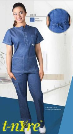 Marca tu estilo con la comodidad y practicidad que solo Tanyre Uniformes te puede dar. Visita www.tanyre.com Staff Uniforms, Medical Uniforms, Work Uniforms, Spa Uniform, Scrubs Uniform, Medical Scrubs, Dental Scrubs, Scrubs Pattern, Nurse Costume