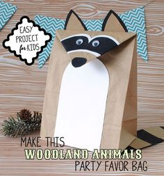 Have the kids make their own favor bag as part of the party activities. Included…