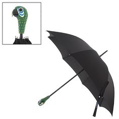 I will love you forever if you buy this for me... Mary Poppins: The Broadway Musical - Parrot Head Umbrella for Adults