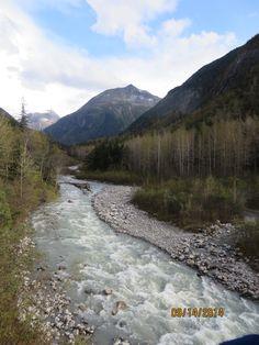 White Pass & Yukon Railroad - Skagway, Alaska to Carcross, V.T.