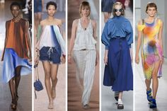Think shoulders. Think red. Think ruffles. Zac Posen nails deconstructing the oxford shirt. Biggest Trends from Spring 2016 Fashion Month. Recurring themes from New York to Paris. Summer 2016 Trends, Spring Trends, Spring Summer Fashion, Spring 2016, Spring Style, 2016 Fashion Trends, Europe Fashion, Trending Outfits, How To Wear