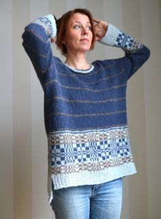 Qualityyarns for knitting. Inspiration and patterns for easy knitting! Easy Knitting, Knitting Yarn, Fair Isle Knitting Patterns, Jumpers, Knits, Ravelry, Crochet Top, Knitwear, Cashmere