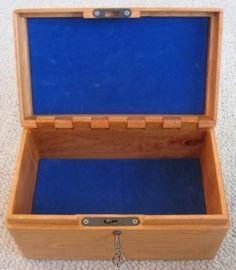 Custom letter box with false bottom