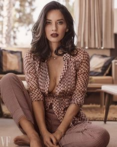 """15.2k Likes, 67 Comments - Vanity Fair (@vanityfair) on Instagram: """"@CriticsChoice Awards host @OliviaMunn is ready to seize the #TimesUp moment: """"For people that have…"""""""