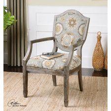 Valene Weathered Arm Chair