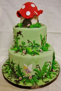 Poppy Rose's Woodland Fairy Cake by Cakes So Special