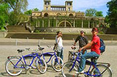 Potsdam Day Bike Tour Take a day-trip from Berlin and discover UNESCO World Heritage listed Potsdam, all by the seat of your bike! From park lands to alleyways, you're English-speaking guide will recount historical anecdotes as you explore an array of Prussian and Cold War sites.You'll travel to Potsdam by train with bike's in-tow before embarking on a leisurely ride covering approximately 10 miles (16km) over 4.5 hours. After all that exertion, break for lunch (not included) ...