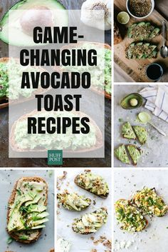 16 Ways To Upgrade Your Avocado Toast (when the only healthy things you have are avocado & bread) Vegetarian Recipes, Cooking Recipes, Healthy Recipes, Breakfast Snacks, Breakfast Recipes, Healthy Snacks, Healthy Eating, Sandwiches, Avocado Toast