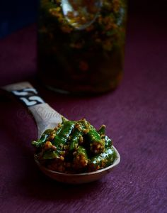 Instant Green Chilli Pickle quick easy to make. Instant Green Chilli Pickle true delight for your taste buds. No Dairy Recipes, Side Recipes, Veggie Recipes, New Recipes, Vegetarian Recipes, Cooking Recipes, Recipies, Gujarati Recipes, Indian Food Recipes