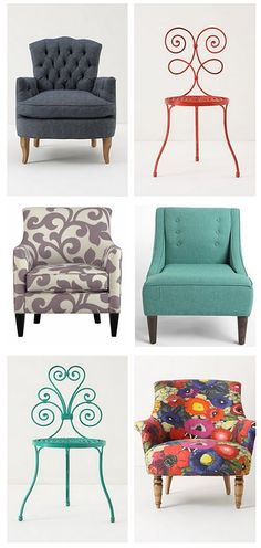 Have a seat!  I need a funky chair for my family room.